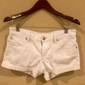 BCBG white shorts